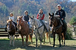 horseback riding birthday parties