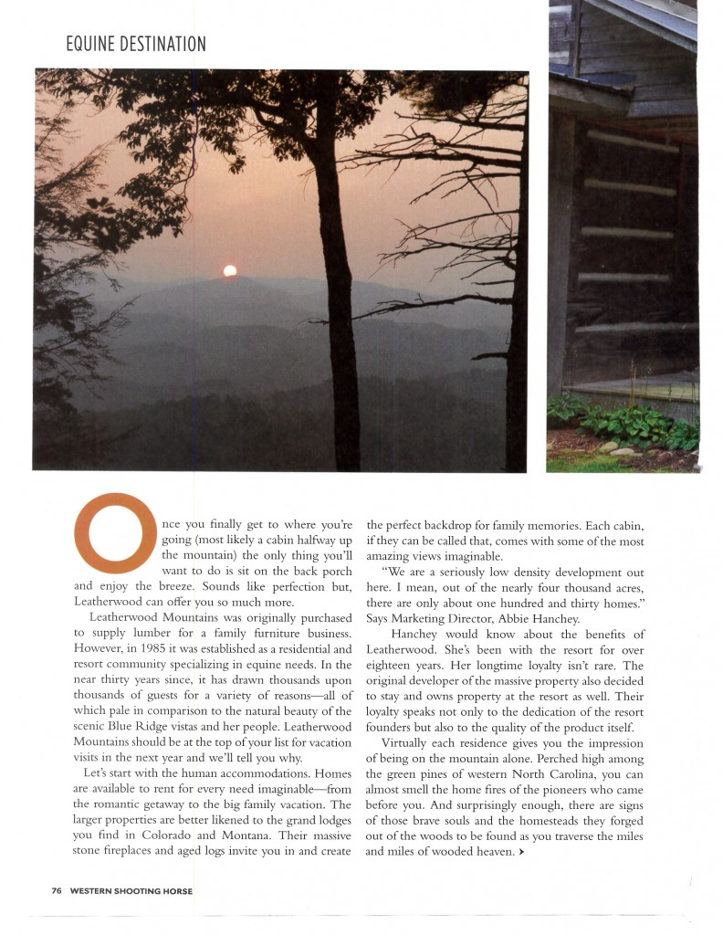 Leatherwood Mountains October Travel article  Western Shooting Horse_Page_6