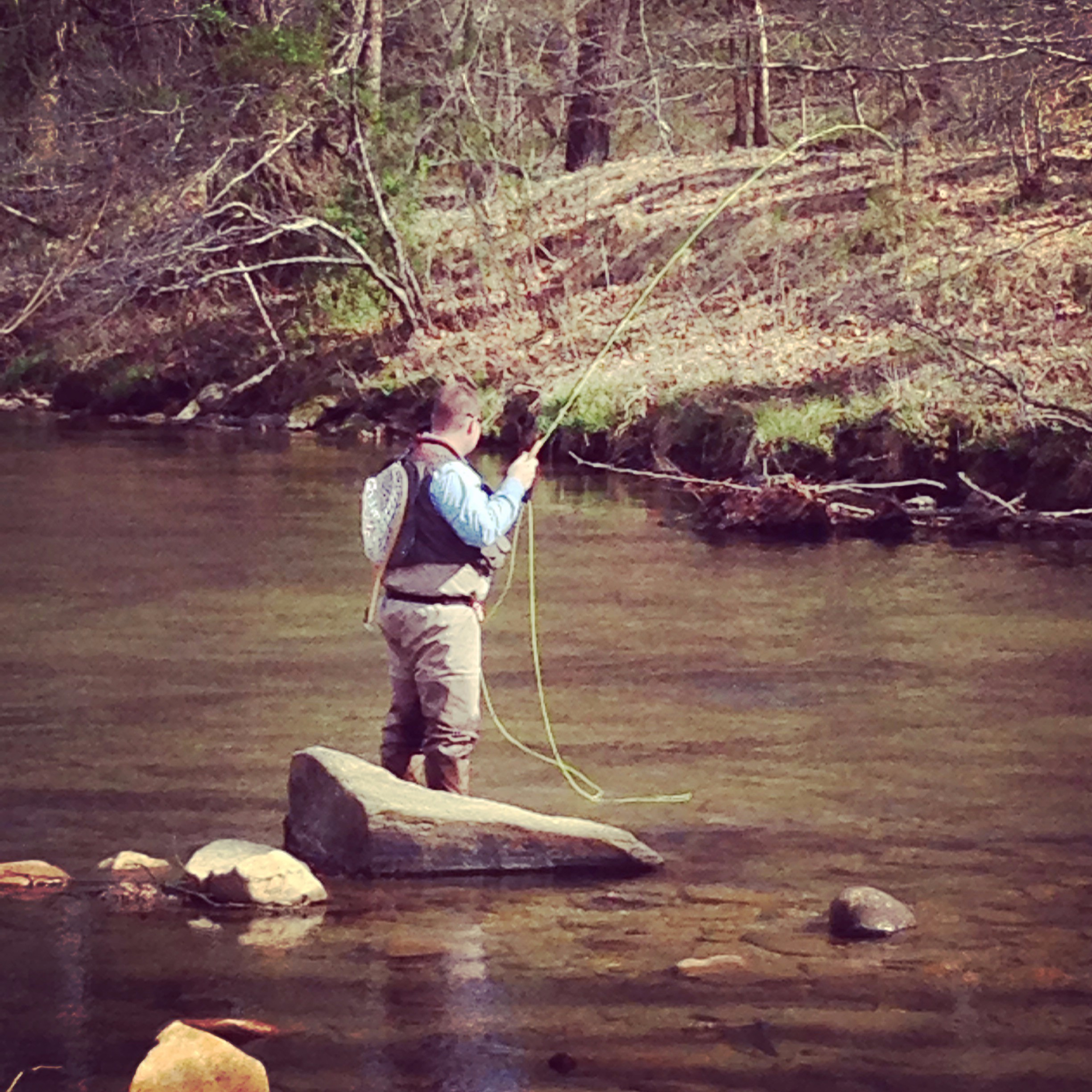 Fly Fishing Is Just One Of The Many Amenities That Leatherwood Mountains Offers In Addition To Our Luxury Vacation Rentals And Real Estate Western North