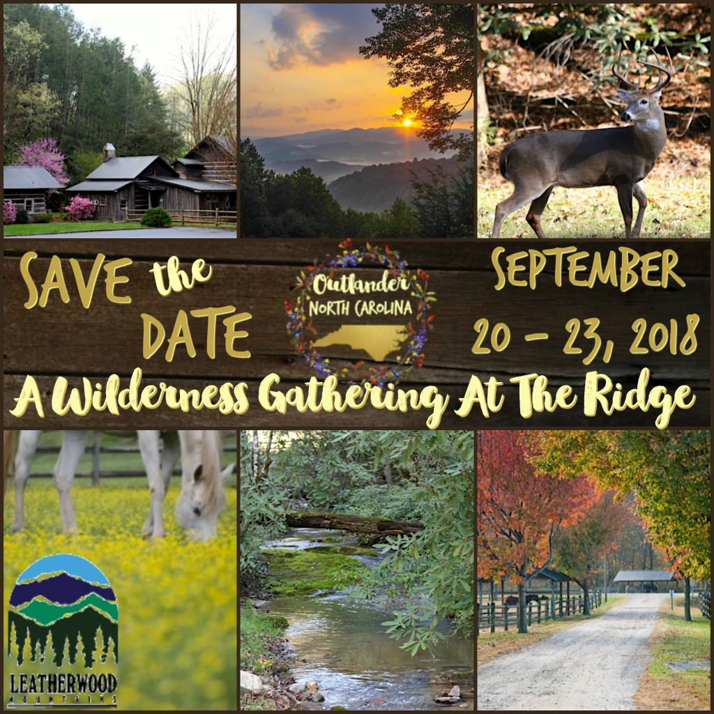 """A Fraser's Ridge Homecoming"" an Outlander North Carolina themed weekend!"