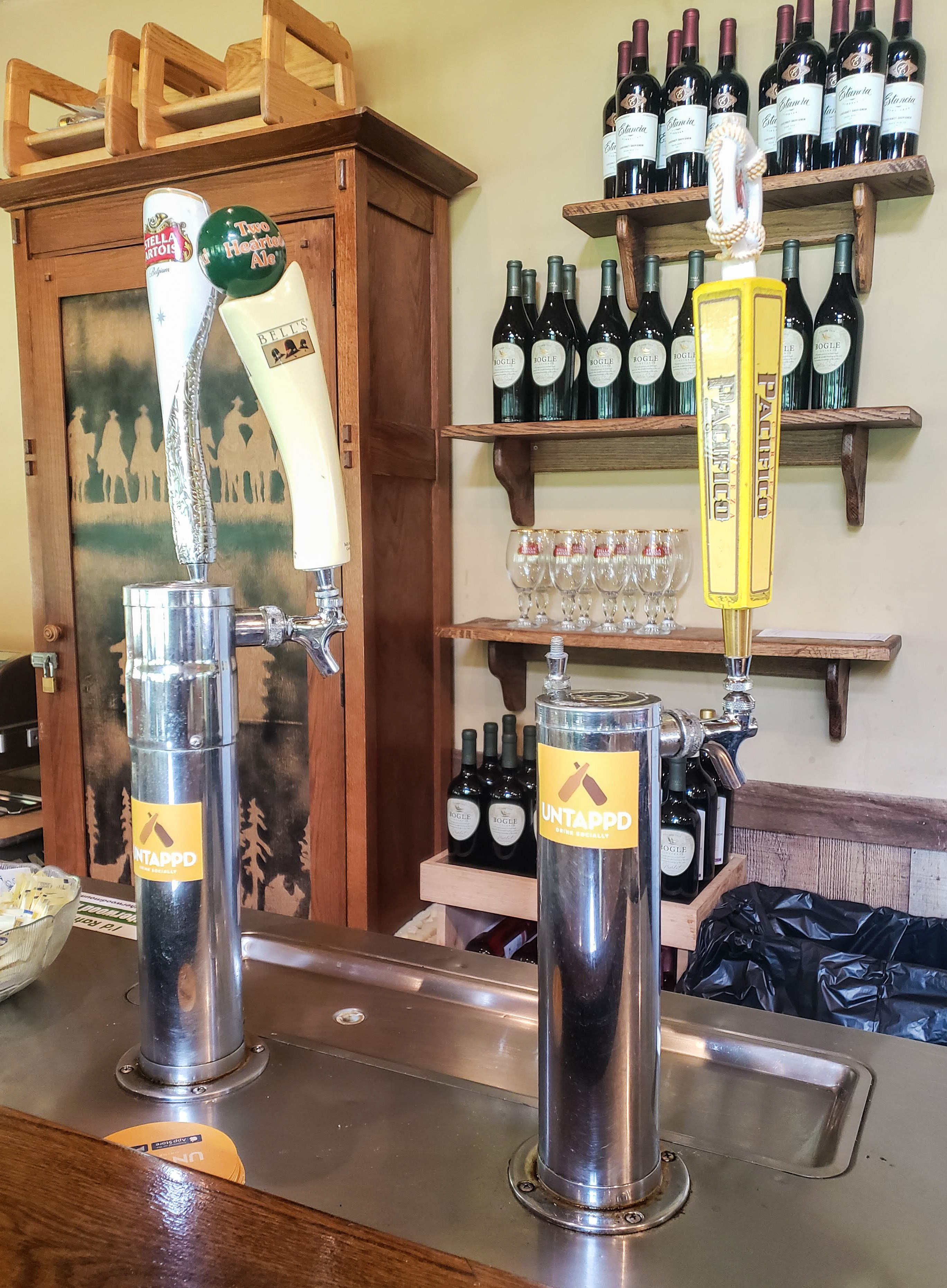 Beer on Tap available at Leatherwood Mountains.