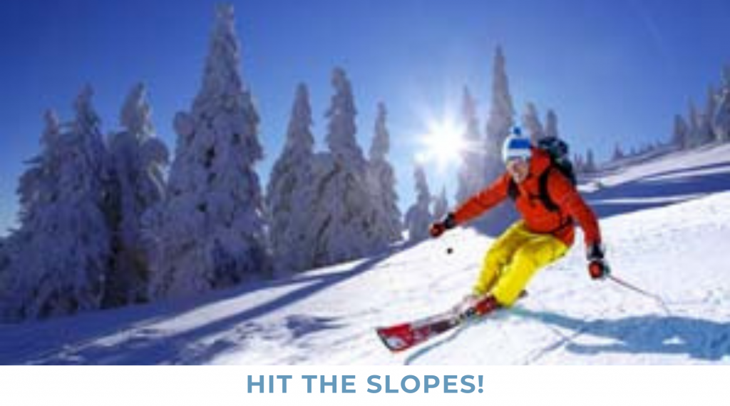 HIT THE SLOPES!! SKIING, TUBING & ICE SKATING Leatherwood Mountains is ideally situated for guests that are interested in venturing out for a day on the slopes. The North Carolina High country towns of Boone, Blowing Rock & Banner Elk are a short drive.